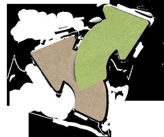 arrow-green-gray